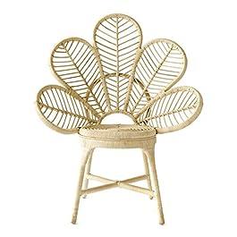 Kenay Home Flower Chaise de Salon, rotin, 70 x 50 x 92 cm