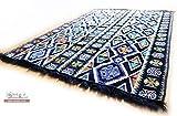 200x135 cm Orientalischer Teppich , Kelim,Kilim ,Carpet ,Bodenmatte ,Bodenbelag ,Rug Neu aus Damaskunst S 1-4-401