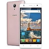 "Zopo C2 - 3G Smartphone Libre Android 6.0 (Pantalla 5.0"", MT6580, Quad Core 1.3GHz, 1G Ram, 8G Rom, Dual Sim, Dual ID, Smart Wake, 5.0 MP Cámara Trasera) (Rosa Dorado)"