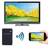 SO-buts Wifi mit Bildschirm/Wireless-Adapter/Spiegel Link Box/Air Play/2.4G/5.8GWiFi Display-Software Hund/1080p HD für Smartphones/Tablets (Schwarz)