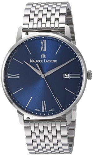 Maurice Lacroix EL1118-SS002-410-2 - Reloj de pulsera hombre, acero inoxidable, color Plata