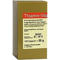 THIAMIN Kapseln Vitamin B1 120 St preisvergleich bei billige-tabletten.eu