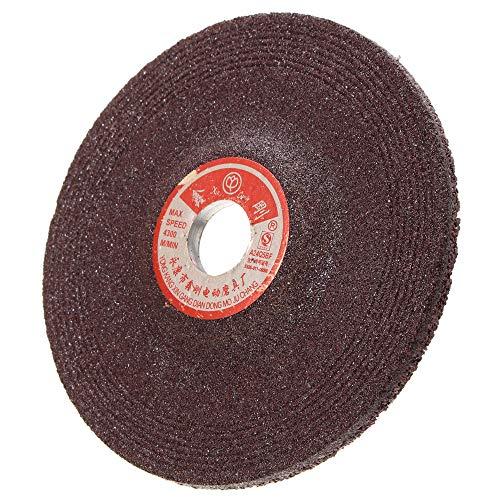 belupai 10pcs 30mm Sanding Wheel Disc Set 80 Grit Sandpaper Flap Wheel for Rotary Tools