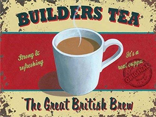 Builders tea,the Great Britannico brew. Resistente,rinfrescante,latte,bianco,a vapore, caldo, zucchero. Cibo
