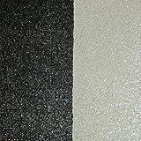 1kg (Grundpreis 16,90€/kg) Glitter Effektwandfarbe (Silber), Glitterfarbe Wand, Wandfarbe, Tapete, Farben