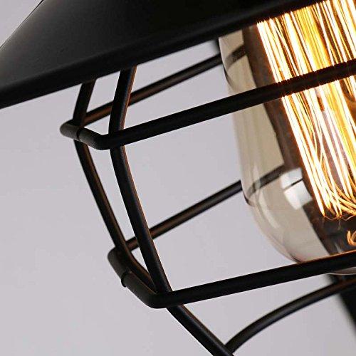 Kronleuchter- Nordic LOFT Retro Industrie Wind Eisen Vogelkäfig Explosionsschutz Eisen Leuchter American Bar Cafe Restaurant Kreativ Leuchter --Innen Kronleuchter -