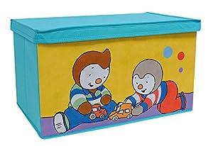 Fun House 712443 - Caja de Juguetes Plegable, diseño de T
