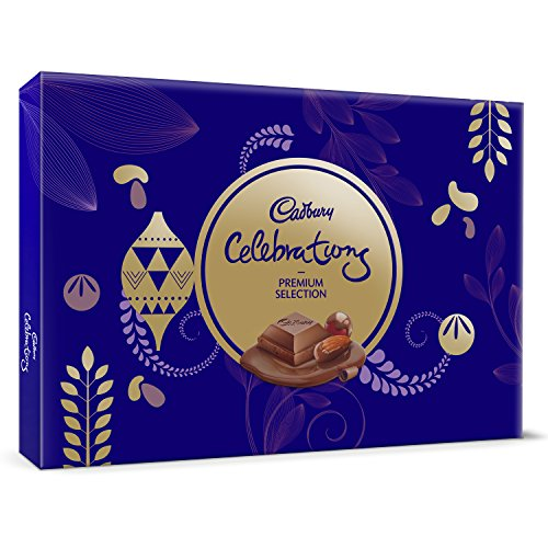 Cadbury Celebrations Premium Assorted Chocolate Gift Pack, 286.3g