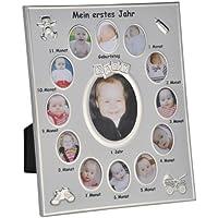 Marco para fotos Mi primer año Baby fotos imágenes Marco de Aluminio 25X 30cm
