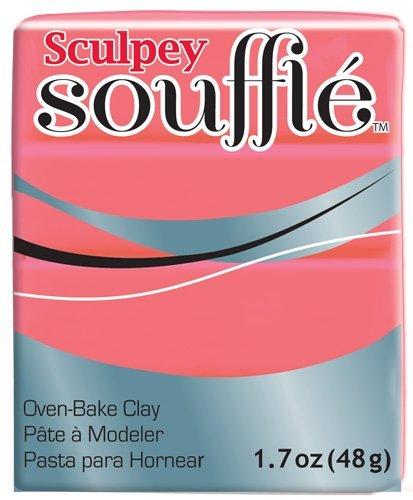 Polyform SU6-6633 Sculpey Souffle Clay, 2-Ounce, Mai Tai by Sculpey Mais Souffle