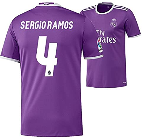Trikot Adidas Real Madrid 2016-2017 Away (Sergio Ramos 4, 164)