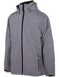 Chaqueta de lluvia Outdoor Killtec para hombre con forro polar de interior y capucha, disponible