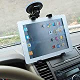 #6: AccMart Car Tablet Mount Full Rotating Strong Suction Cup For Windshield Dashboard Adjustable Car Tablet Mount & Cradle Stand Mount Tab Holder for 7 to 10 Inch Kindle / iPad / Tablets (Black) By TRENDY INDIA