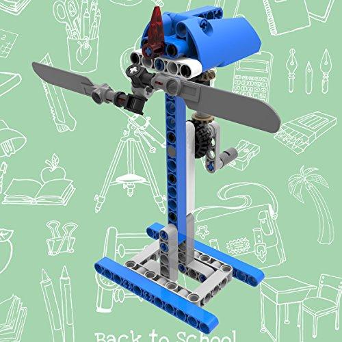 , 54Teile Kinder Windmühle Bausteine DIY Montage Spielzeug Educational Spielzeug