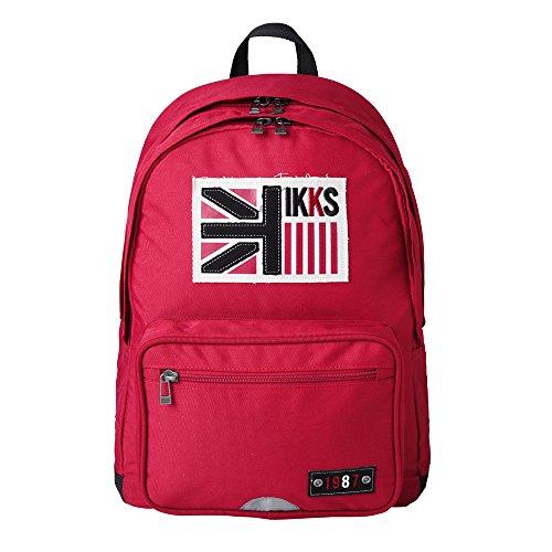 IKKS Zaino Scuola, rosso (Rosso) - I5BUK-SDL-RG