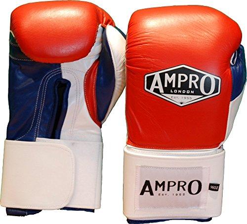 Ampro-Mirage-V2-profesional-velcro-guantes-de-boxeo-rojoblancoazul-marino-2835-g