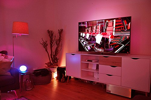 Philips Hue LED Lampe E27 Starter Set inklusive Bridge, 2. Generation, 3-er Set, dimmbar, 16 Mio Farben, app-gesteuert - 8
