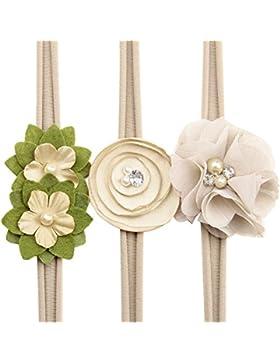 Diademas, FAMILIZO Bebé Niñas Flor Diademas Y Cintas De Pelo Accesorios De La Boda Sombreros Para Bebé