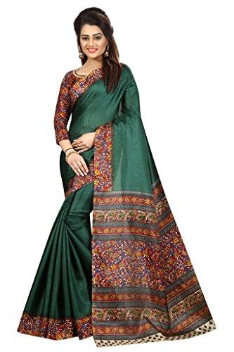 Vinayak Trendz Cotton Silk Lehenga Choli (Orange_Free Size)