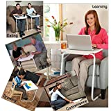 Zenvexyo Table Mate Foldable and Adjustable Laptop, Children Study Table Matex