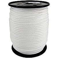 Corde Cordage PP 2mm 100m Blanc (0100) Tressé Polypropylène
