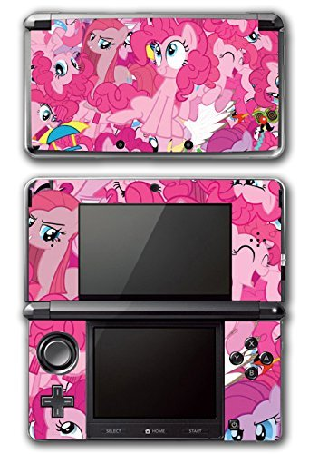 My Little Pony Friendship is Magic MLP Pinkie Pie Video Game Vinyl Decal Skin Sticker Cover for Original Nintendo 3DS System by Vinyl Skin Designs (Decal Pie Vinyl Pinkie)