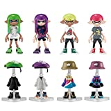 Nintendo - Boîte De 8 Figurines Splatoon - Kisekae Gear Collection Pack Box