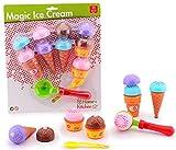 Kinder-Spielzeug Eiscreme Set 11 teilig Kinder-Küche Spiel-Küche Spiel-Küchen-Zubehör