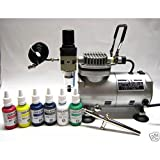 Airbrush-Kompressor AC 18C inklusive Harder & Steenbeck Ultra
