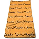 ewtretr Luxus Handtücher,Pumpkin Spice Kitchen Towels - Dish Cloth - Machine Washable Cotton Kitchen Dishcloths,Dish Towel & Tea Towels for Drying,Cleaning,Cooking,Baking (12 X 27.5 Inch)