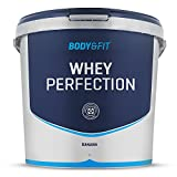 Body & Fit Whey Perfection - Banana Milkshake (4540g) - Whey Protein / Whey Hydrolysat