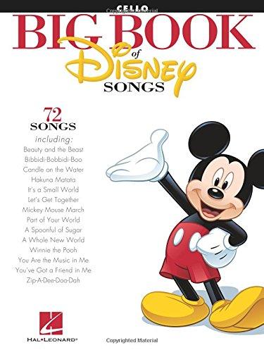 The Big Book of Disney Songs (Cello) Violoncelle
