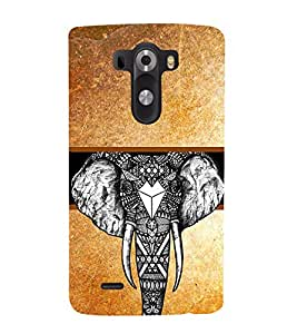 PrintVisa Designer Back Case Cover for LG G3 :: LG G3 Dual LTE :: LG G3 D855 D850 D851 D852 (pouch case cover holder bodypanels)