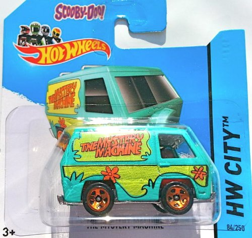Hot Wheels 2014 HW City THE MYSTERY MACHINE (SCOOBY DOO) 84/250