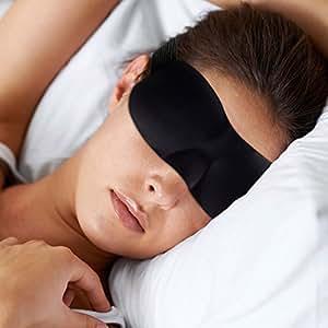 masque de nuit sommeil cache yeux pour dormir pour femme homme enfant bandeau de nuit. Black Bedroom Furniture Sets. Home Design Ideas