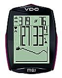 VDO M6.1 WL Fahrradcomputer, Mehrfarbig (schwarz / rosa)
