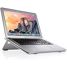 El soporte plegable de ordenador portátil, Beeiee® de aluminio plegable del sostenedor del soporte ajustable para el ordenador portátil PC, portátil, el MacBook Air, MacBook Pro, aire iPad, iPad mini, y otros 10 ~ 17 pulgadas tabletas