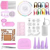 Kit de 14pcs Outils de Paperolles Quilling Paper pour DIY Art du Papier Loisirs Créatifs