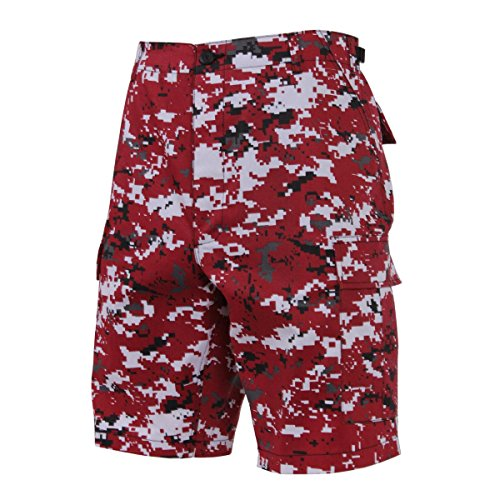 Rothco Ultra Force BDU Shorts Gr. XXX-Large, Red Digital Camo (Short Digital Camo)
