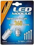 Litexpress LXB404 Led Upgrade Modul 360 Lumen Maglite Taschenlampe (Geeignet für 3 - 6 C/D-Cell Maglite Taschenlampen)