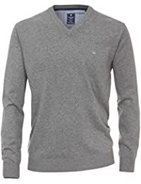 Redmond Herren NOS V-Neck Pullover Regular fit Cotton Melange Quality 93eca1692e