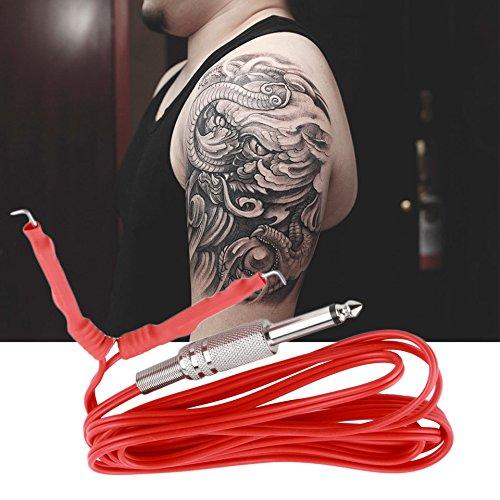 Tattoo Maschine Netzkabel, Swiftswan 6 Feet Tattoo Clip Kabel für Tattoo Maschine Tattoo Netzteil Tattoo Draht (6' Netzkabel)