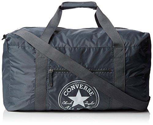 Converse Ct Packable Gym Nylon Borsa, Unisex Adulto, Grigio, 49X28X27