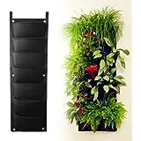 vertikale pflanztasche mit 9 f chern f r garten balkon und hauspflanzen garten. Black Bedroom Furniture Sets. Home Design Ideas
