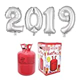 Party Factory Ballongas Helium 420 Liter im Set mit Folienballon 2019