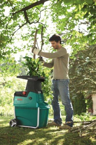 Bosch AXT 25 TC Quiet Shredder, Cutting Capacity 45 mm