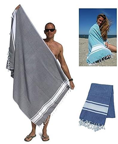 Fouta Drap de hammam XL 'Sol' | Idéal comme serviette