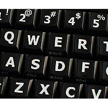 Amazonit Lettere Adesive Grandi Qwerty Keys