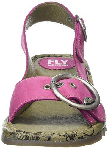 Fly London  TRAM, Sandales femme Pink (Fuchsia)