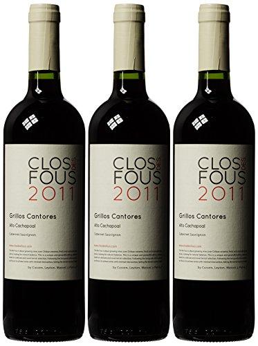 £38.98 Best Seller Clos des Fous Cabernet Sauvignon 2011 Wine 75 cl (Case of 3)
